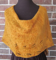 Alpaca, wool, poncho, hand-transferred lace, crocheted edging